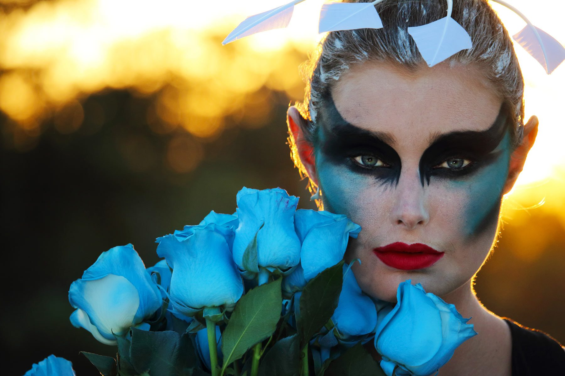 Blue Roses Art Photography